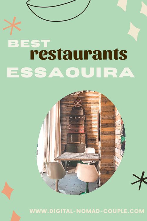 best restaurants essaouira