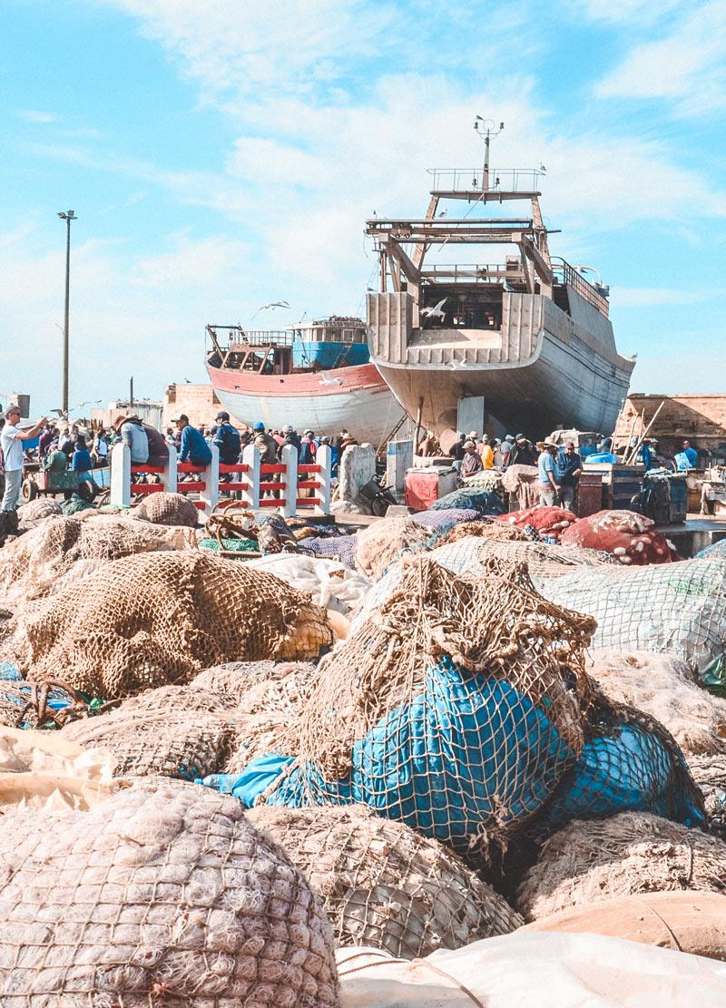 port of essaouira morocco